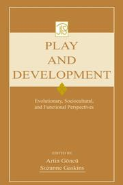 Cover of: Play and Development |
