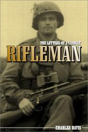 Cover of: letters of a combat rifleman | Davis, Charles