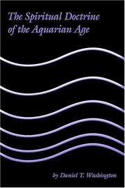 Cover of: The Spiritual Doctrine of the Aquarian Age