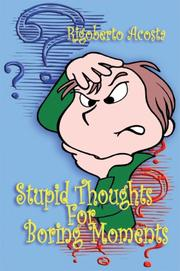 Cover of: Stupid Thoughts for Boring Moments