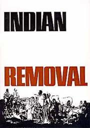 Cover of: Indian removal