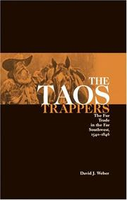 The Taos trappers by David J. Weber