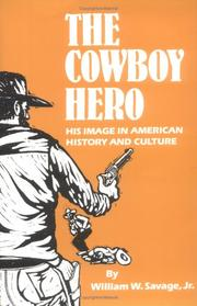 Cover of: The Cowboy Hero
