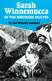 Cover of: Sarah Winnemucca of the Northern Paiutes