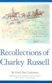 Cover of: Recollections of Charley Russell