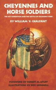 Cover of: Cheyennes and horse soldiers