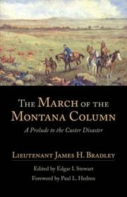 Cover of: MARCH OF THE MONTANA COLUMN, THE (American Exploration and Travel Series)