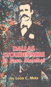 Cover of: Dallas Stoudenmire
