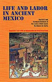 Cover of: Life and labor in ancient Mexico