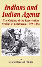 Cover of: Indians and Indian agents