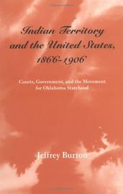 Indian Territory and the United States, 1866-1906