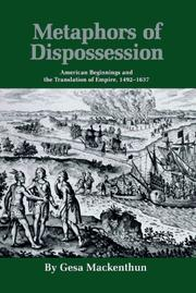 Cover of: Metaphors of dispossession