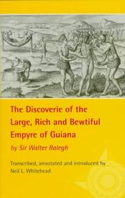 Cover of: The discoverie of the large, rich, and bewtiful Empyre of Guiana