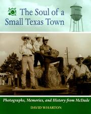 Cover of: The soul of a small Texas town