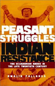 Cover of: From peasant struggles to Indian resistance