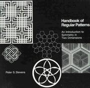Handbook of regular patterns by Peter S. Stevens