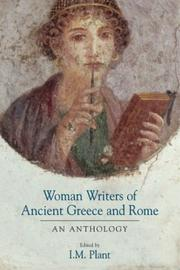 Cover of: Women Writers of Ancient Greece