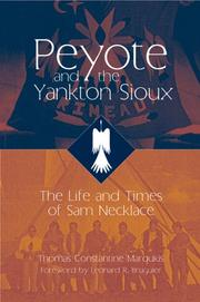 Cover of: Peyote and the Yankton Sioux