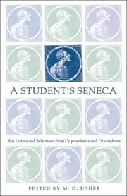 Cover of: A Student's Seneca