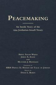 Cover of: Peace-making | Abdul Majali