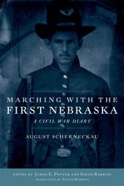 Cover of: Marching With the First Nebraska