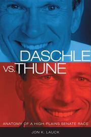 Cover of: Daschle Vs. Thune