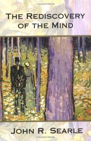 Cover of: The rediscovery of the mind