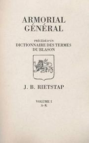Cover of: Armorial General