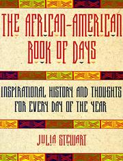 Cover of: The African-American book of days