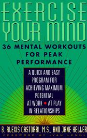 Cover of: Exercise your mind | B. Alexis Castorri