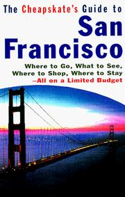 Cover of: The Cheapskate's Guide To San Francisco