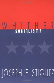 Cover of: Whither Socialism? (Wicksell Lectures)