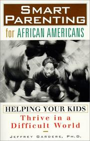 Cover of: Smart Parenting for African-Americans