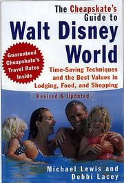 Cover of: The Cheapskate's Guide to Walt Disney Revised and Updated: Time-Saving Techniques and the Best Values in Lodging, Food, and Shopping (Cheapskate's Guide to Walt Disney World)