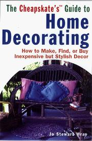 Cover of: The Cheapskate's Guide To Home Decorating