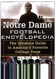 Cover of: The Notre Dame football encyclopedia