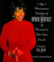 Cover of: The Uncommon Wisdom Of Oprah Winfrey