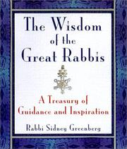 Cover of: The Wisdom Of Modern Rabbis