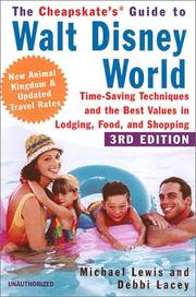 Cover of: The Cheapskate Guide To Walt Disney World «: Time-Saving Techniques and the Best Values in Lodging, Food, and Shopping (Cheapskate's Guide to Walt Disney World)