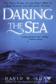 Cover of: Daring The Sea: The True Story