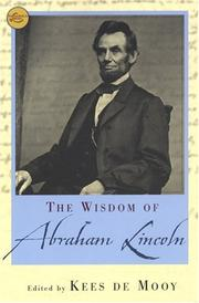 Cover of: The Wisdom Of Abraham Lincoln (Wisdom Library)