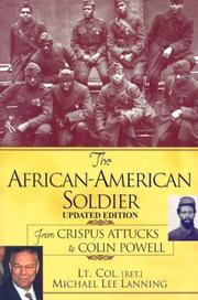 Cover of: The African-American Soldier