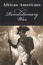 Cover of: African Americans in the Revolutionary War