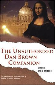 Cover of: The Unauthorized Dan Brown Companion