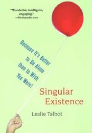 Cover of: Singular Existence