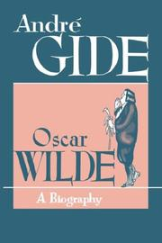 Cover of: Oscar Wilde