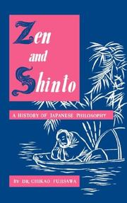 Cover of: Zen and Shinto