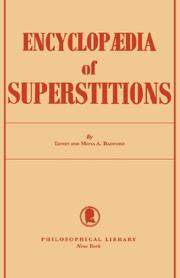 Cover of: Encyclopedia of Superstitions