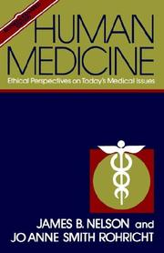 Cover of: Human medicine