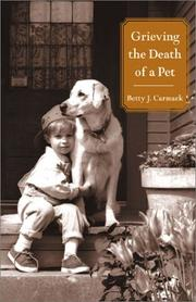 Cover of: Grieving the Death of a Pet